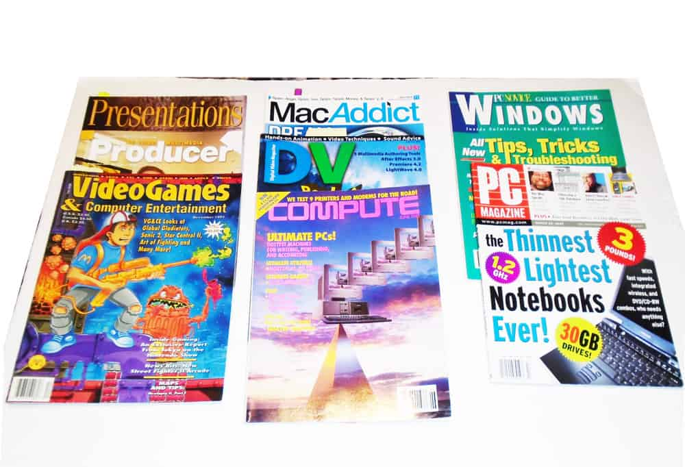 Magazines with my articles